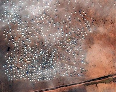 Satellite imagery solving the world's crisis